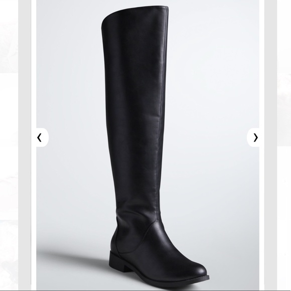 c80cf7b9312 ... THIS ITEM IS SOLD! Smooth Over The Knee Boots WIDE WIDTH WIDE CALF.  M 5a78b19833162766d6ed6542